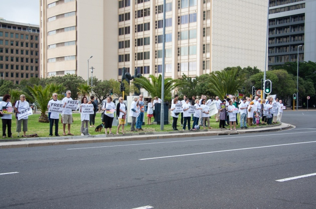 Free Karabus Demonstration Cape Town - more images